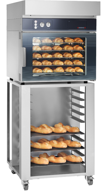 The GALA 40 is the ideal in-store baking oven for